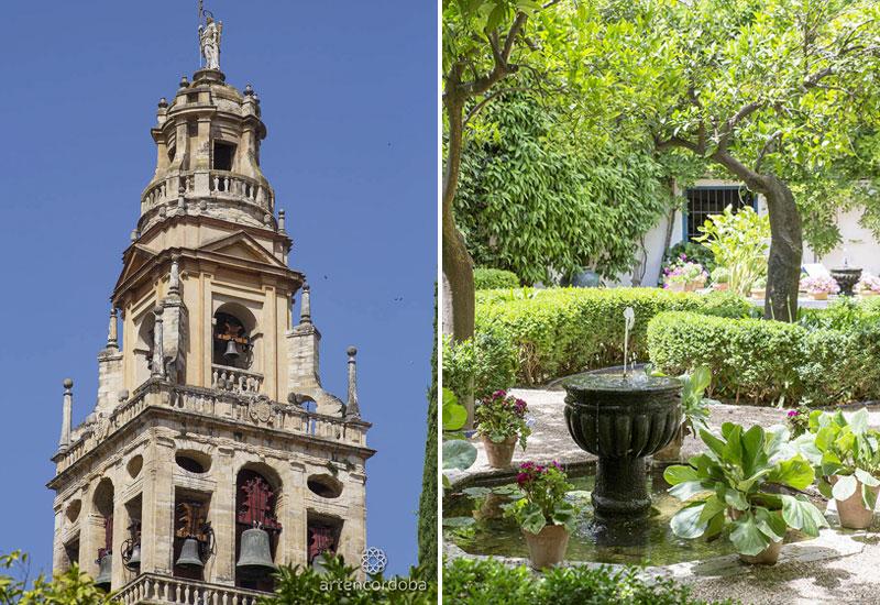 Torre campanario | Patio de los Naranjos