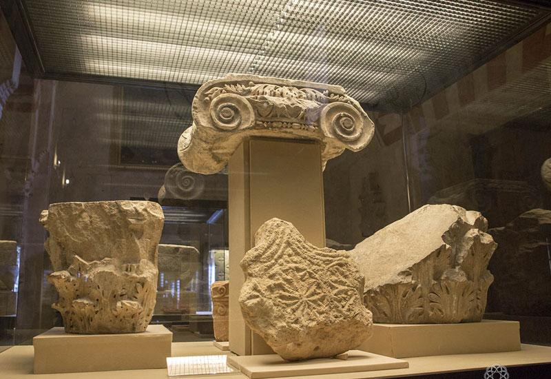 Restos arqueológicos en el Museo de San Vicente.